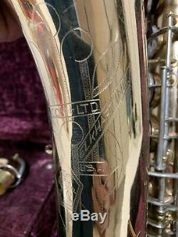 Conn Lady Face Tenor Saxophone Nail File serial # 257435 New Wonder II. 10M