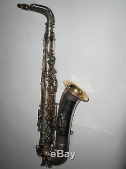 Conn Silver Plated C Melody Saxophone #140190