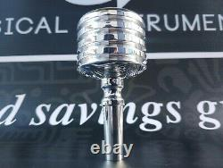 Culture PI Hand Engraved Tuba Double cup Mouthpiece