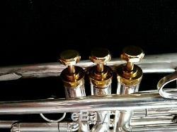 Customized CarolBrass CTR-5000 Professional Trumpet w Yamaha YTR-639 Bell