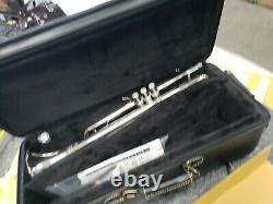 Demo Pro. Yamaha Xeno Bb Trumpet silver plated reverse leadpipe YTR8335RSII
