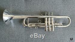 E. Benge Resno Tempered Bell 3X MLP, Los Angeles CALIF GAMONBRASS trumpet