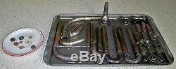 Early 1920s Buescher BBb Silver Plated Model 83 LP Sousaphone 24 Bell SN 187171