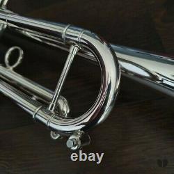French Besson by Kanstul MARVIN STAMM 94BB, original case GAMONBRASS trumpet