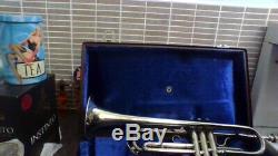 Getzen silver trumpet