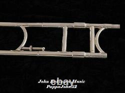 HN White KING Conservatory Model Orchestra trombone 1924 TIS FULLY RESTORED