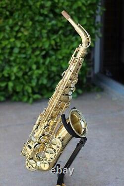 Henri Selmer Paris 52 Axos Mint Demo Professional Alto Saxophone Free Shipping