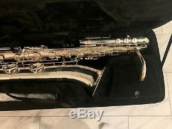 IW 661 Bass Saxophone Silver Plated show special