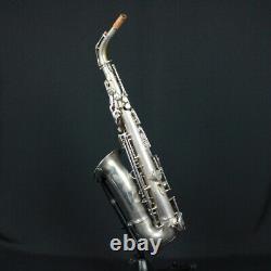Ida Maria Grassi Jade Roller Series 4 Silver Plated Alto Saxophone