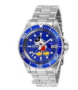 Invicta 24608 Pro Diver Disney Mickey Mouse Ltd. Edition 24 Jewel Automatic