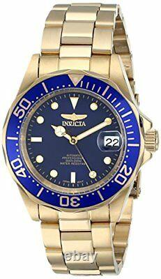 Invicta Men's Pro Diver Automatic 200m Gold Plated Stainless Steel Watch 8930