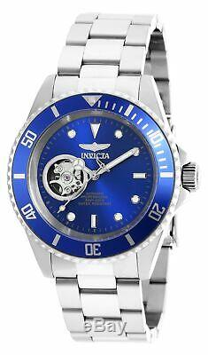 Invicta Men's Watch Pro Diver Automatic Dive Silver Tone Steel Bracelet 20434