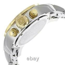 Invicta Men's Watch Pro Diver Scuba Chronograph Silver Tone Dial Bracelet 80040