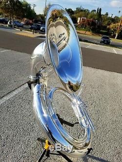 John Packer 2057 Silver Plated Bb Sousaphone Professional