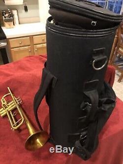 Kanstul 1600 Trumpet, Wayne Bergeron Model, Bb, Yellow Brass, Mouthpiece, Case