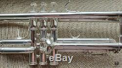 Kanstul Besson MEHA Lightweight LARGE BORE, Silver plated GAMONBRASS trumpet