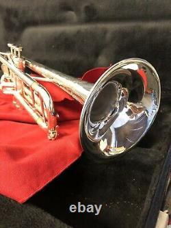 King'Silver Flair' Trumpet With Mouth Piece & Hard Black Case