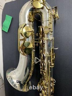 King Zephyr Tenor Saxophone Silver Plated Overhauled