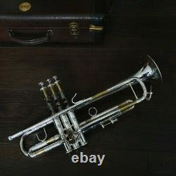 LARGE BORE Bach Stradivarius 72 LIGHTWEIGHT 25LR GAMONBRASS trumpet
