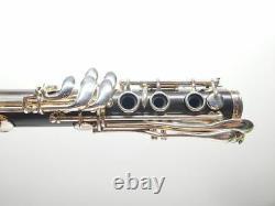 Lightly Used Buffet Professional Bb Tosca Grenadilla Clarinet Silver Plated Keys