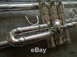 Lightweight! Adams A5, Silverplated, original Gig Bag GAMONBRASS trumpet