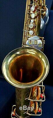 MINT Conn 26M CONNqueror deluxe & improved 6M VIII Naked Lady pro alto saxophone