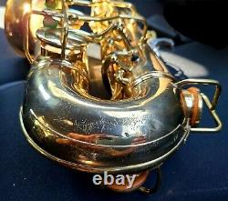 MINTy Conn 26M Connqueror! Deluxe/improved 6M VIII Naked Lady pro alto saxophone