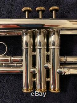 Marcinkiewicz Coppola Model Trumpet RARE Excellent Condition Silver Plate