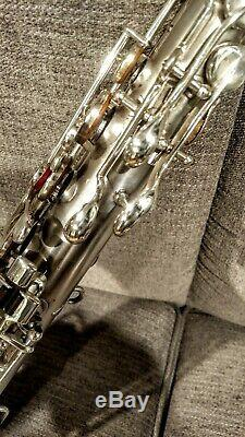 Martin Handcraft 1921 C-Melody Saxophone Restored Silver plated Elkhart Indiana