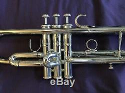 Mt Vernon NY Bach Trumpet New York Mercedes Pro Trumpet with Original Case