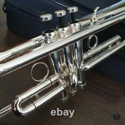 NEW OLD STOCK A. Courtois Paris ACEV3B bell over bell system GAMONBRASS trumpet