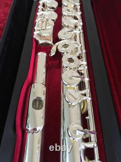 NEW Silver Gemeinhardt 33OSB Galway CRUSADER Flute, Open-Hole, B-foot, Offset G