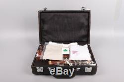New Professional Clarinet Rosewood Body Silver Plated Key B-flat 17 key Bb
