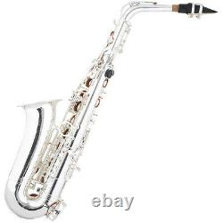 New Silver Plated Alto Saxophone-pro Concert Band Sax