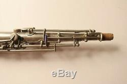 Old LOW PITCH French Adolphe sax soprano saxophone