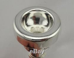 Original 60s Vincent Bach Mt Vernon NY 3C Silver Professional Trumpet Mouthpiece