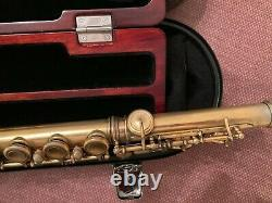 Powell HJ, Sior-Champelain flute German silver seamed body &foot 24K Gold plated