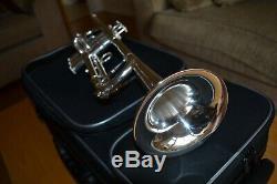 Pristine Carol Brass Professional Lightweight Trumpet CTR-5000L-YLT-S