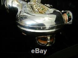 Professional B & S Medusa Tenor Saxophone SL Gold Brass Model, 3 Necks included