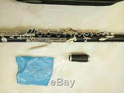 Professional French G key clarinet wood body Silver plated key good sound