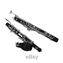 Professional kit English Horn Alto Oboe F Key Silver-plated Keys E2U0