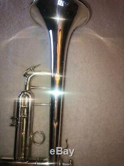RARE! Vintage 1968 Bach Stradivarius ML180-37 Trumpet Silver/Gold -Excellent