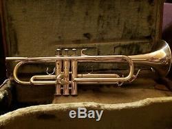 RARE Yamaha YTR-931 B flat trumpet, silver