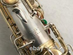 Rare Conn New Wonder Alto Saxophone Gold & Silver Plated, Overhauled! SEE VIDEO