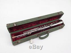 Rare Selmer SBA soprano saxophone. 100% original silver. Superb! 1957