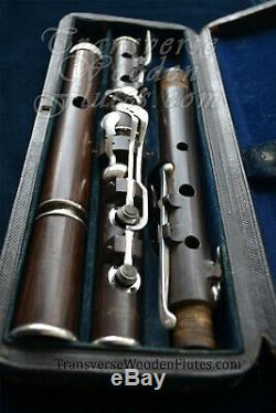 Rudall & Rose 8 Key Patent Head Wooden Flute