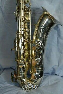 Saxophone Buffet Crampon S1 Tenor silver