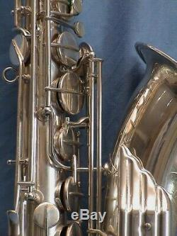 Saxophone vintage Keilwerth tenor The New King tenor 1958 silver angel wings