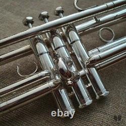 Schilke B2, ML bore, original case & mouthpiece GAMONBRASS trumpet