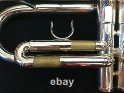 Schilke B7 Silver Bb Trumpet, Excellent Condition (2014)